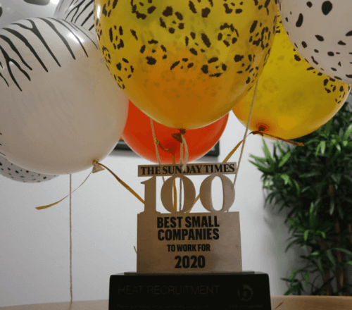 Heat's award for being one of the top 100 companies to work for
